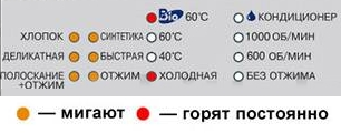 стиральная машина Samsung – коды ошибок LE, E9, LE1
