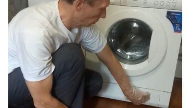 Самостоятельная чистка сливного насоса стиральной машины LG