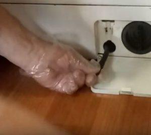 сливного насоса стиральной машины LG шаг 2